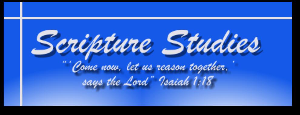 Scripture Studies Complete Index